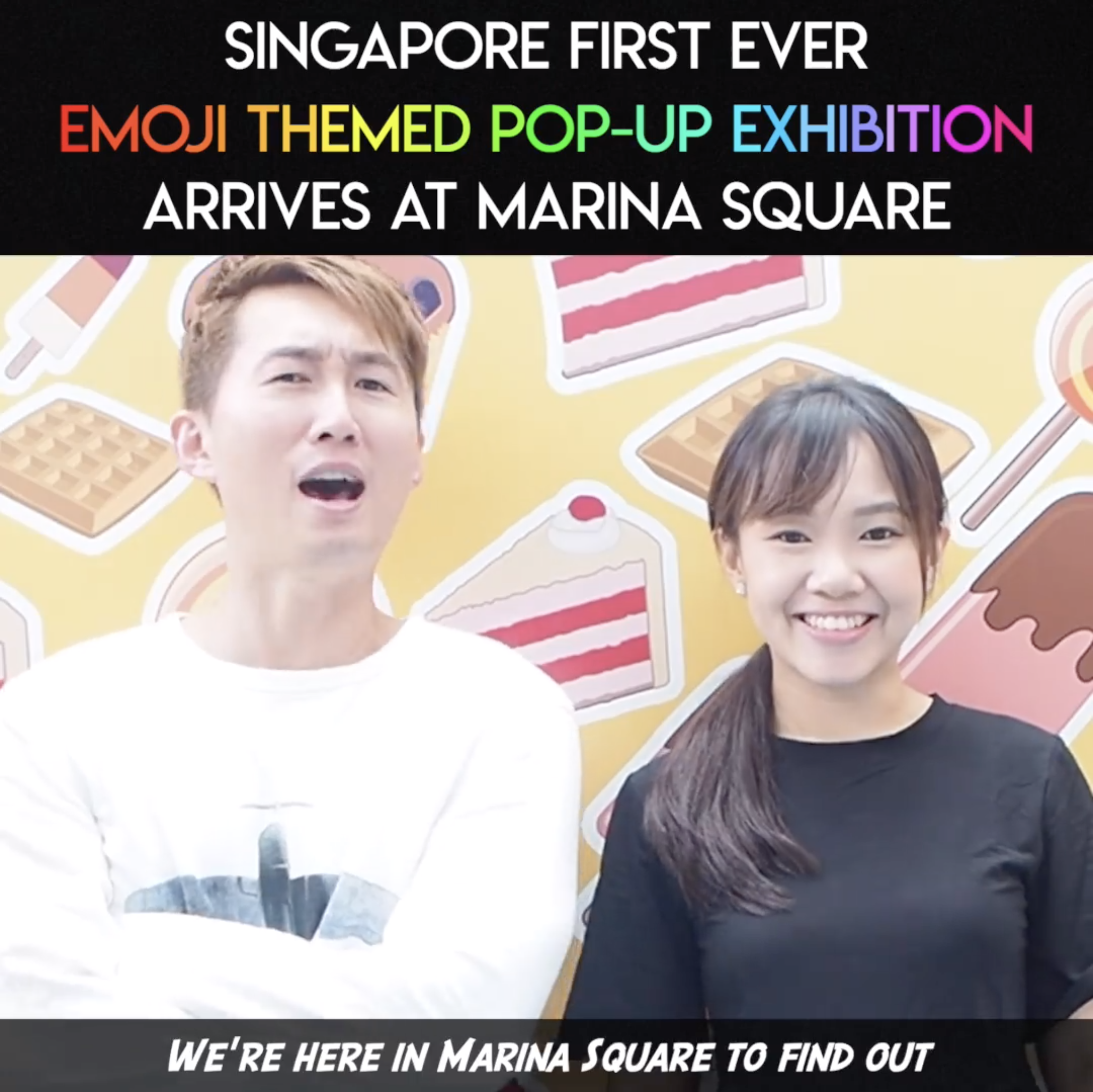 First Emoji Popup Exhibition in Singapore