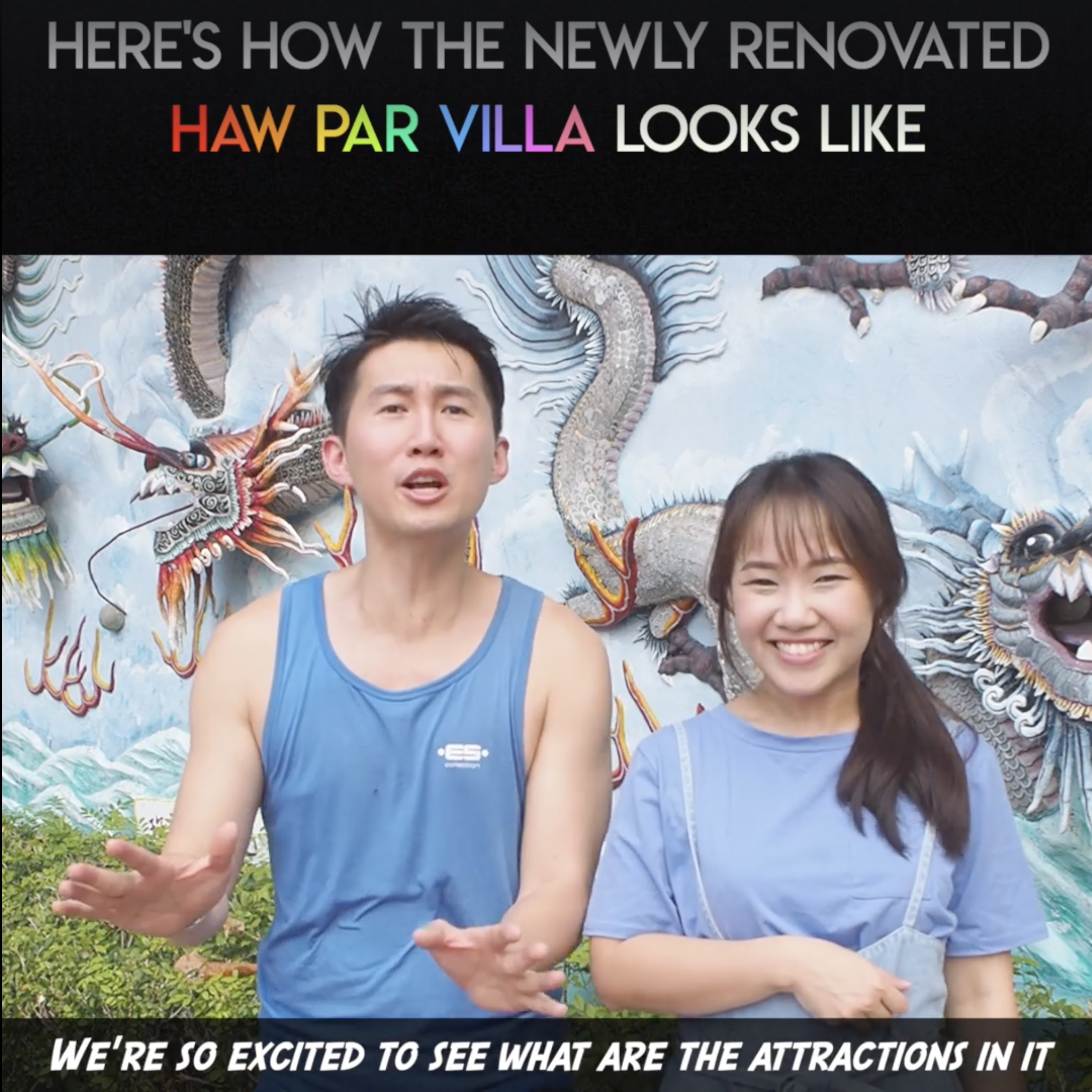 Revamped Haw Par Villa