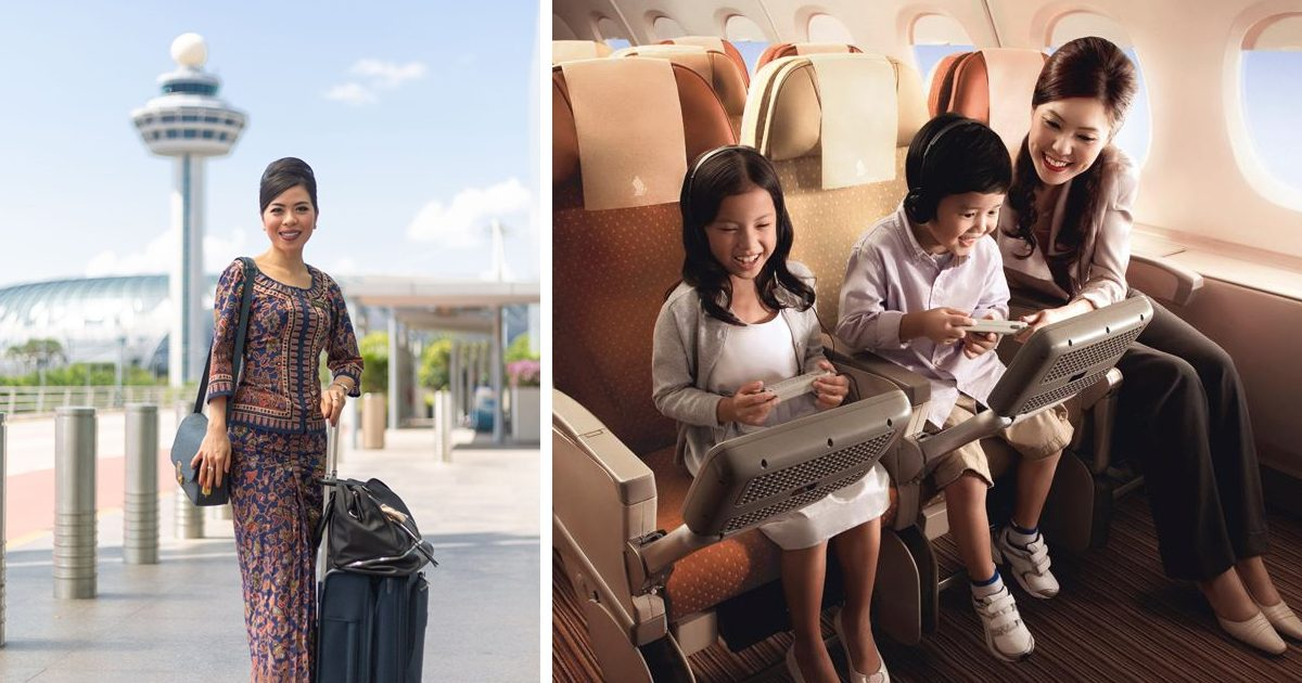 Singapore Airlines Promotions for travel during the National Day long weekend