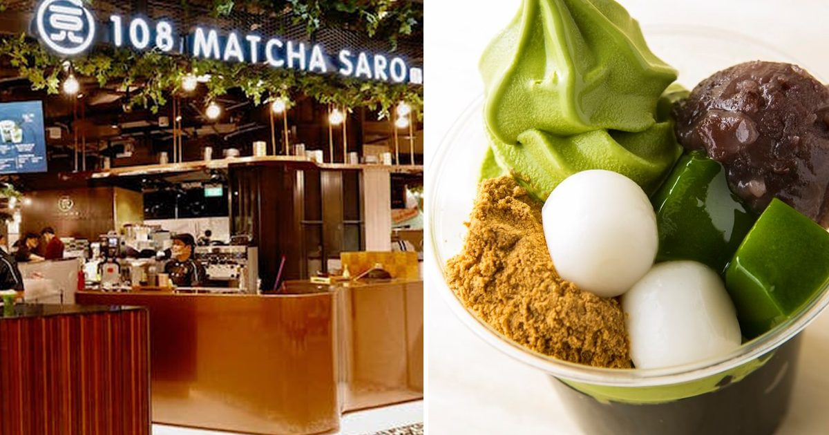 Premium Japanese Matcha dessert chain opens first Southeast Asia outlet at Suntec City