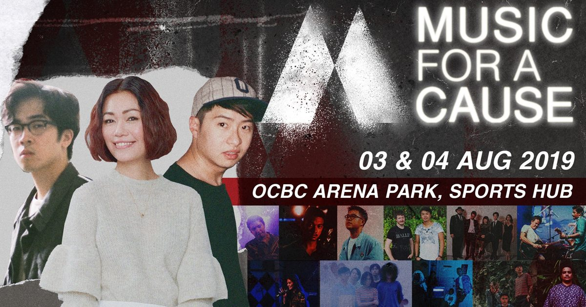 Joanna Dong and Charlie Lim to headline Youth music festival with a cause