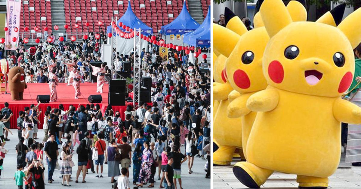 Japanese Summer Festival at National Stadium has more than 100 booths of authentic Japanese F&B and Pokemon Carnival