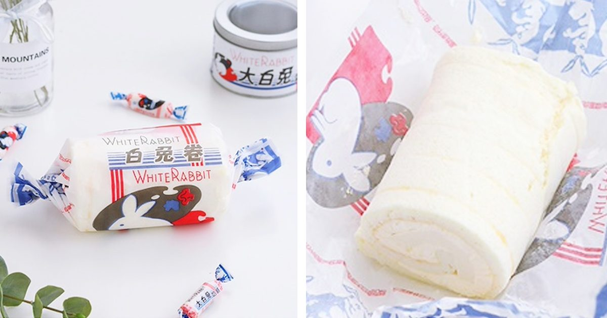 White Rabbit Candy Cake Roll is real and it's only S$9.90