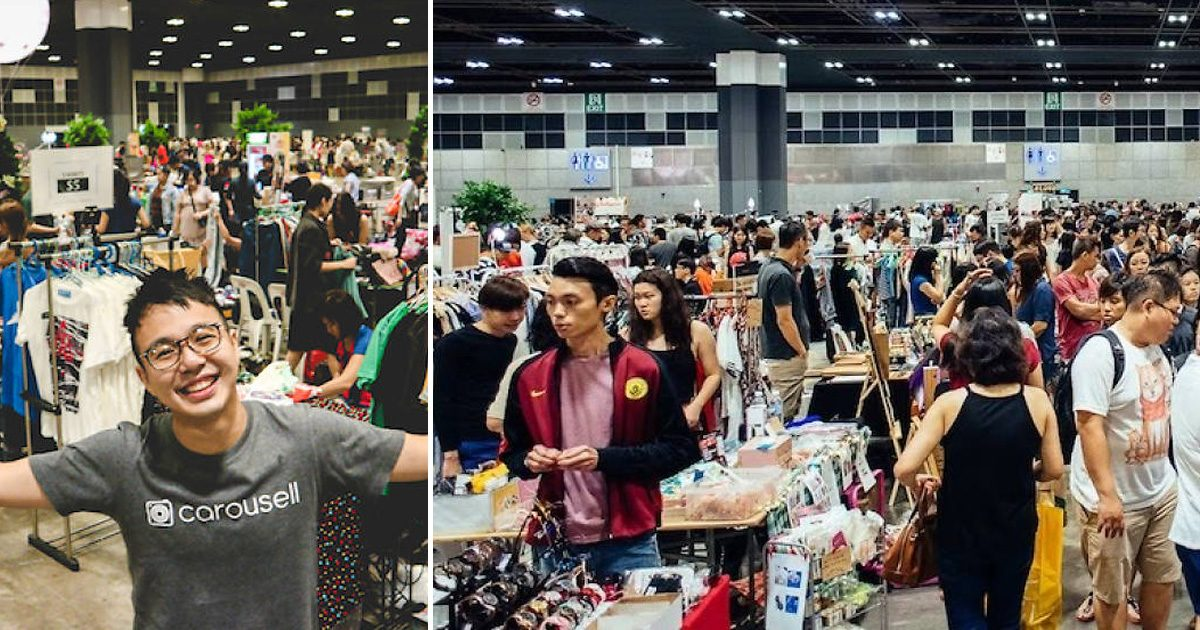 Carousell to hold mega fair this weekend and there are over 300 booths to shop from