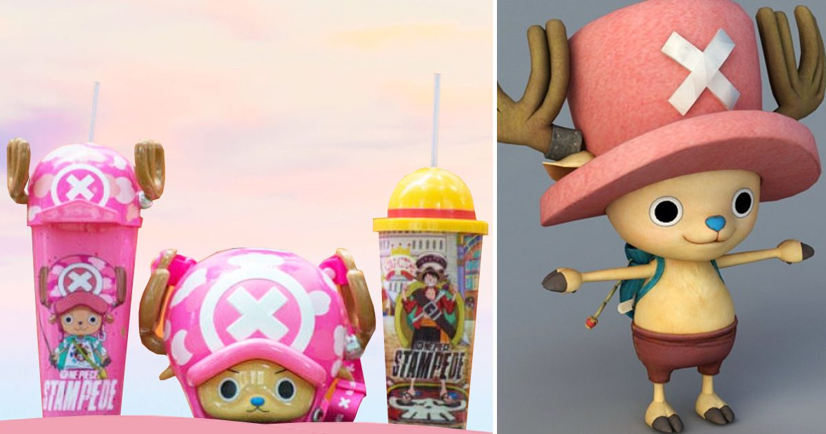 GV Cinemas to release One Piece Stampede Collectible Cups & Chopper Popcorn Bucket from 31 August 2019
