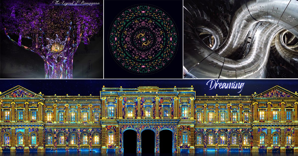 A first look at all of the 16 light installations at this year's Singapore Night Festival