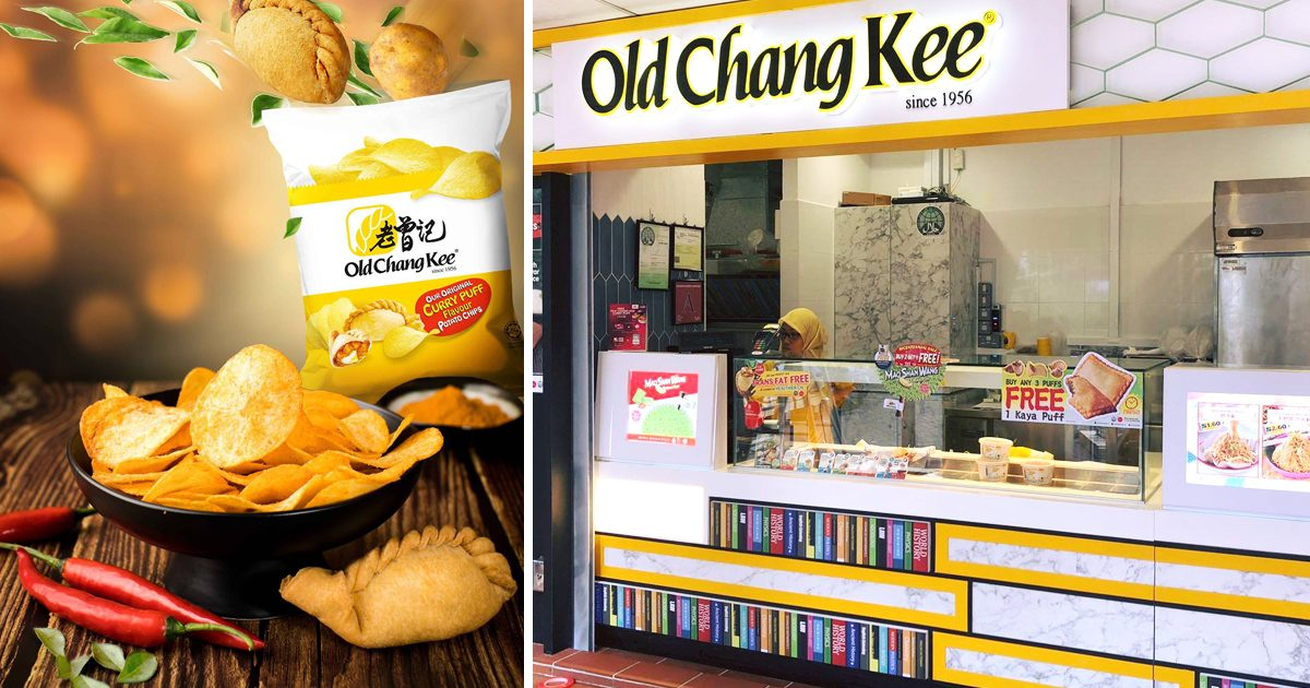 Old Chang Kee to sell Curry Puff Flavor Potato Chips from 15 September