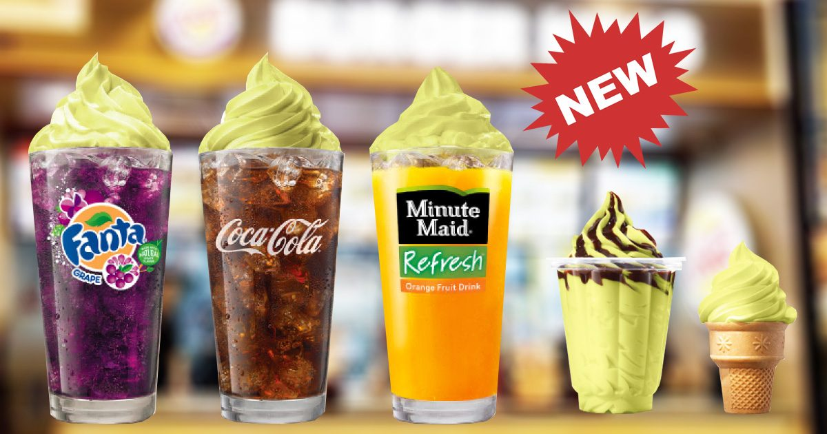 Burger King Singapore introduces Avocado Cones, Floats & Sundaes from 17 September 2019
