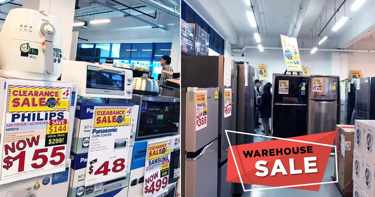5 Days Best Denki AMK Warehouse offers up to 80% discount on electrical appliances