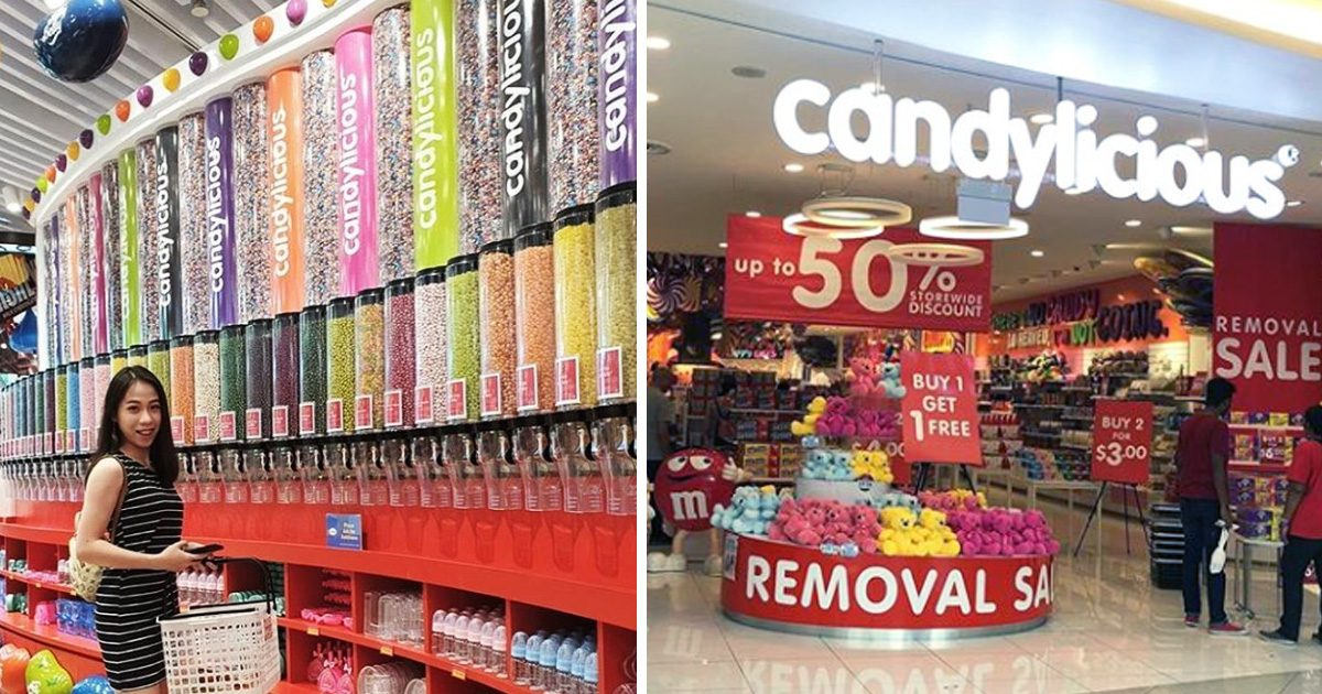 VivoCity Candylicious sale offers up to 50% discounts