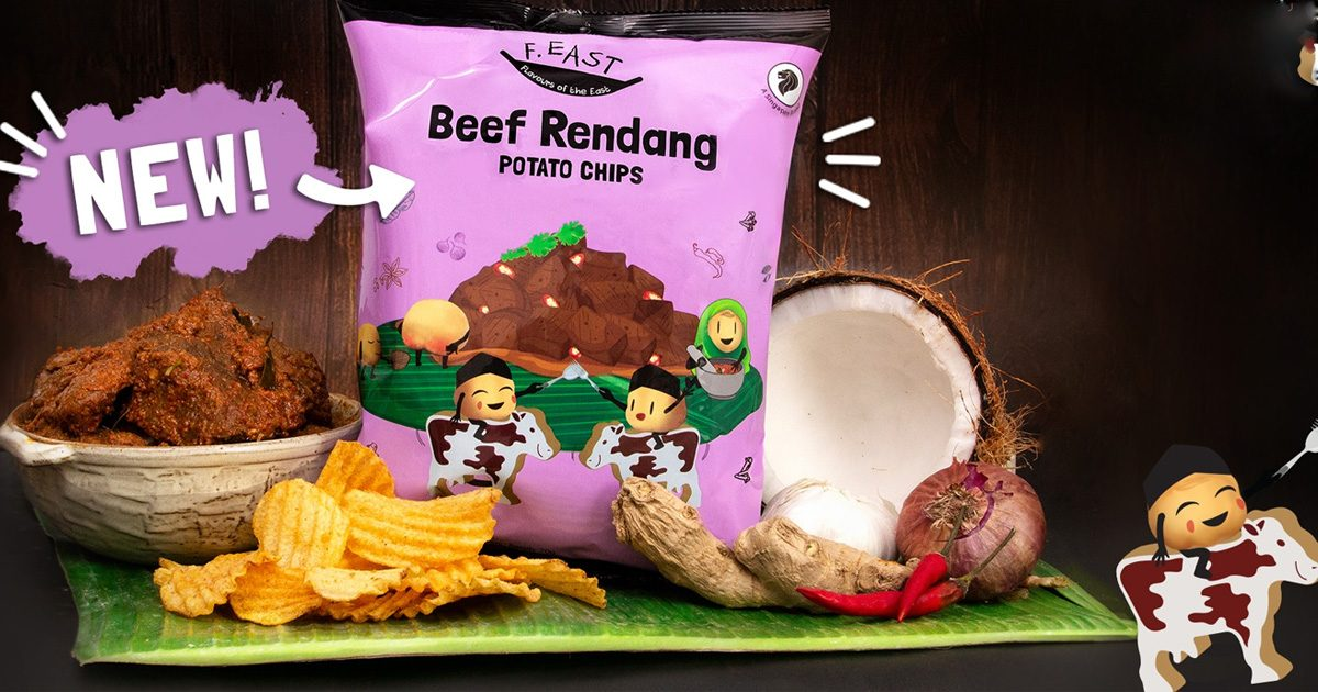 Impossible Beef Rendang Potato Chips hits Singapore 7-Eleven convenience outlets and redmart