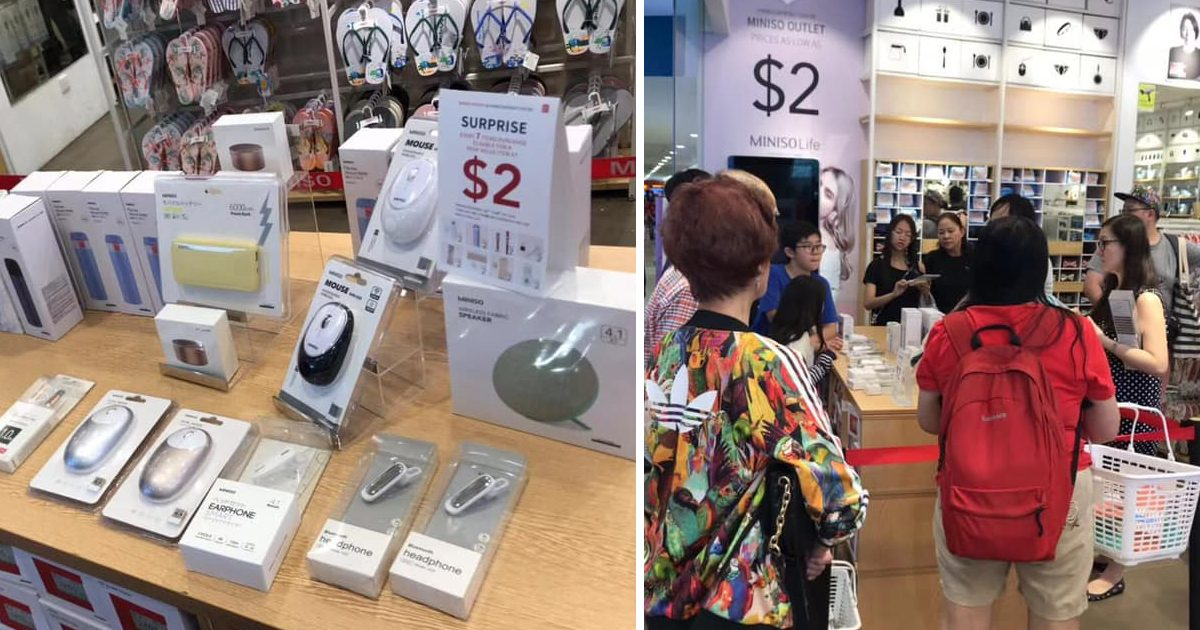 Miniso opens new outlet at HarbourFront Centre selling items from S$2