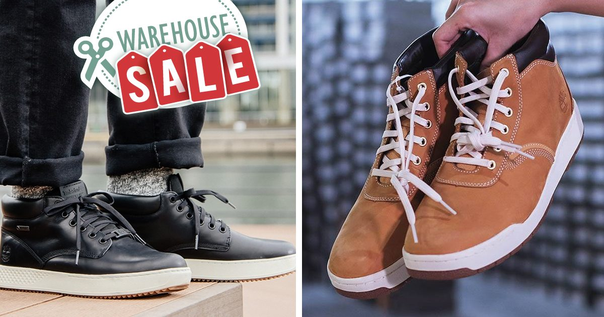 Up to 80% off on Timberland, Vans and Kipling Shoes at Expo Sales from now till 20 October 2019
