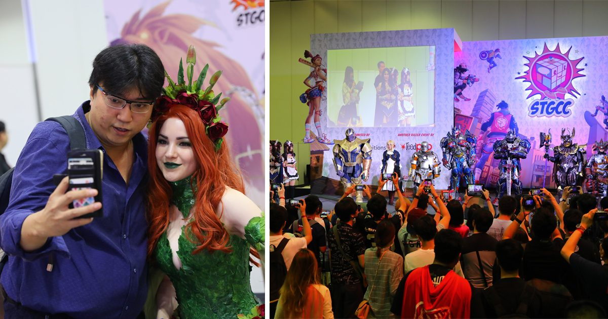 Singapore Comic Con returns this weekend featuring DC Comic Book artistes, Cosplayers and more