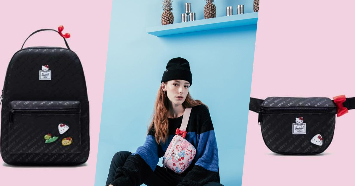 Herschel Supply x Hello Kitty backpacks and hip packs now available in S'pore