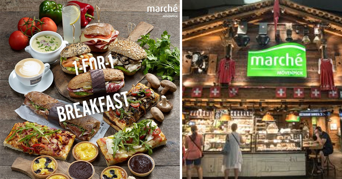 Marché 1-for-1 Breakfast Promotion returns at JEM & Raffles City outlets from today