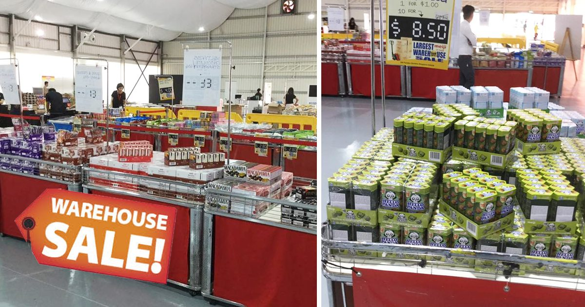 Meiji Warehouse Sale 2019 happening this weekend at Jurong West