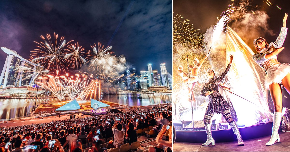 Marina Bay New Year Countdown has Singapore's largest drone show, food village and more
