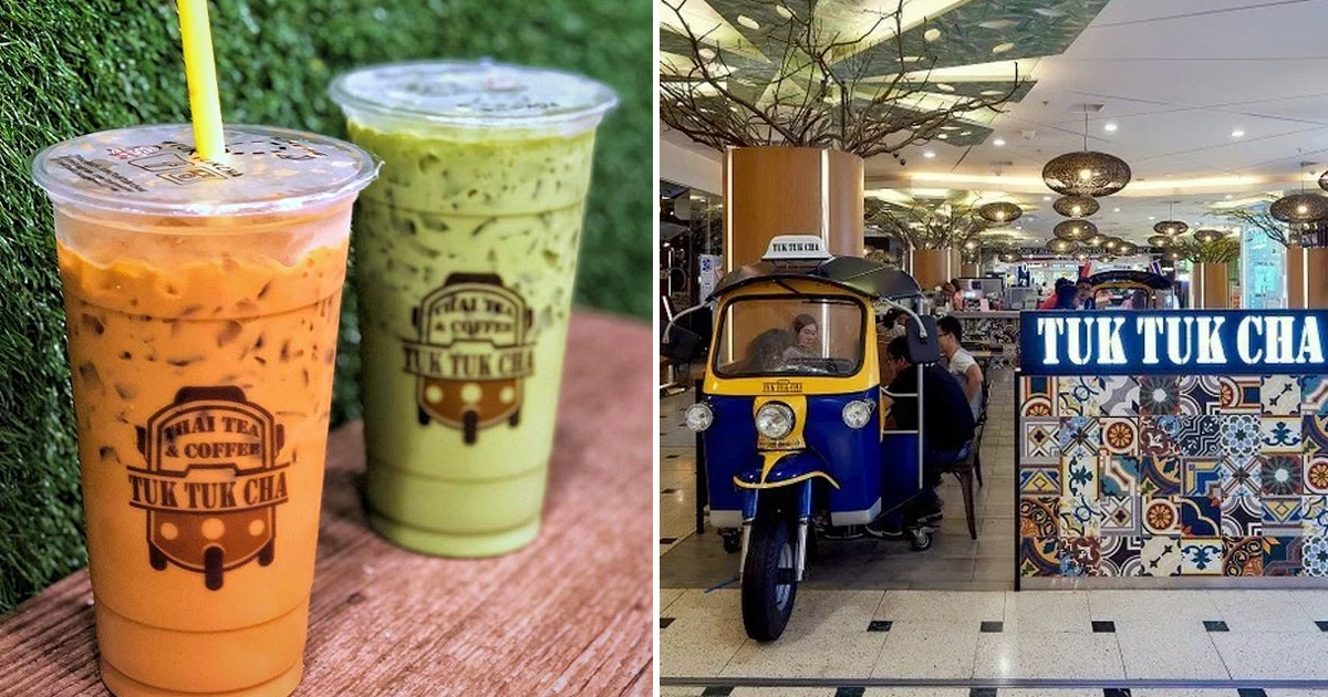 Tuk Tuk Cha offering one-for-one promotion on Thai Milk tea and Green Milk Tea on Black Friday