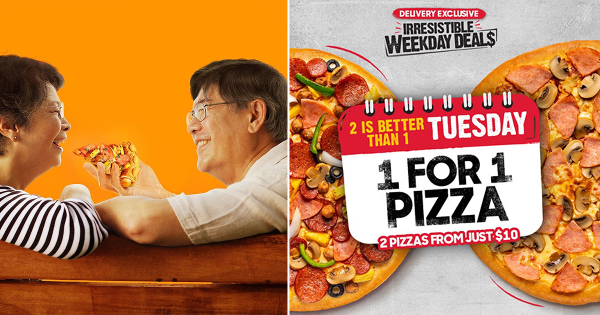 Pizza Hut offering 1-for-1 pizza promotion every Tuesday