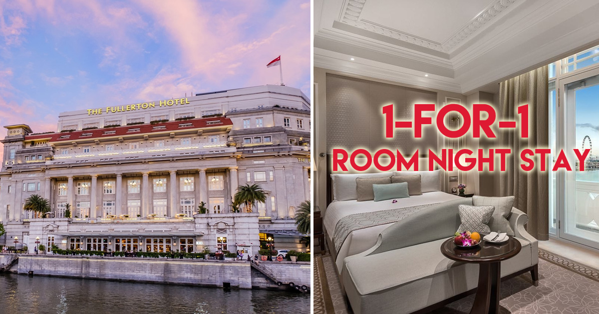 The Fullerton Hotel offering 1-for-1 room nights for staycation