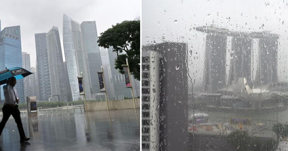 Singapore expected to experience more rain in Oct & Nov 2020