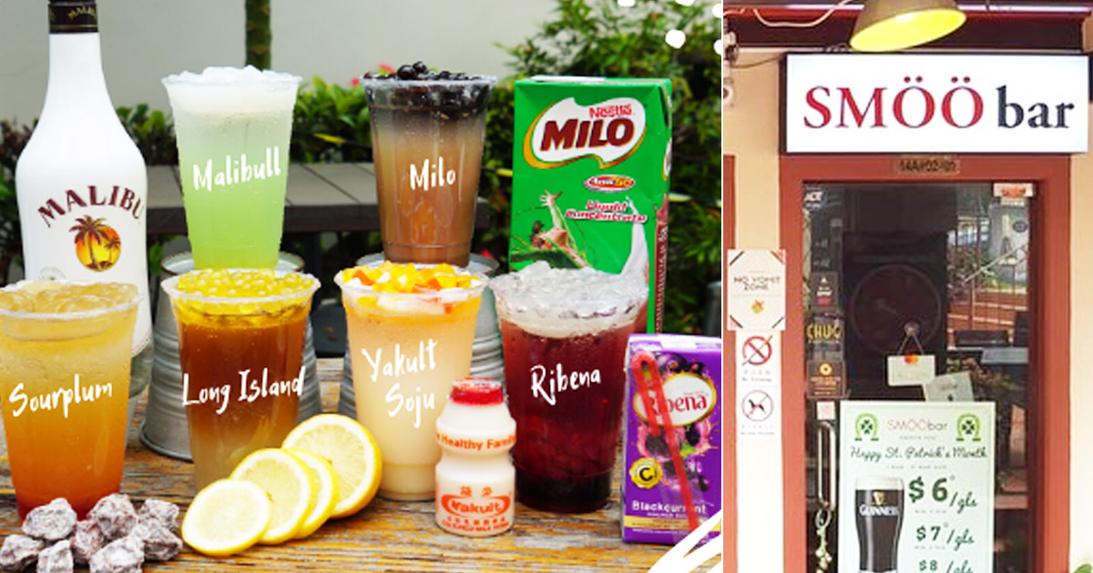 Circuit Breaker Promotion: SMÖÖbar launches alcoholic bubble tea from S$5 per cup