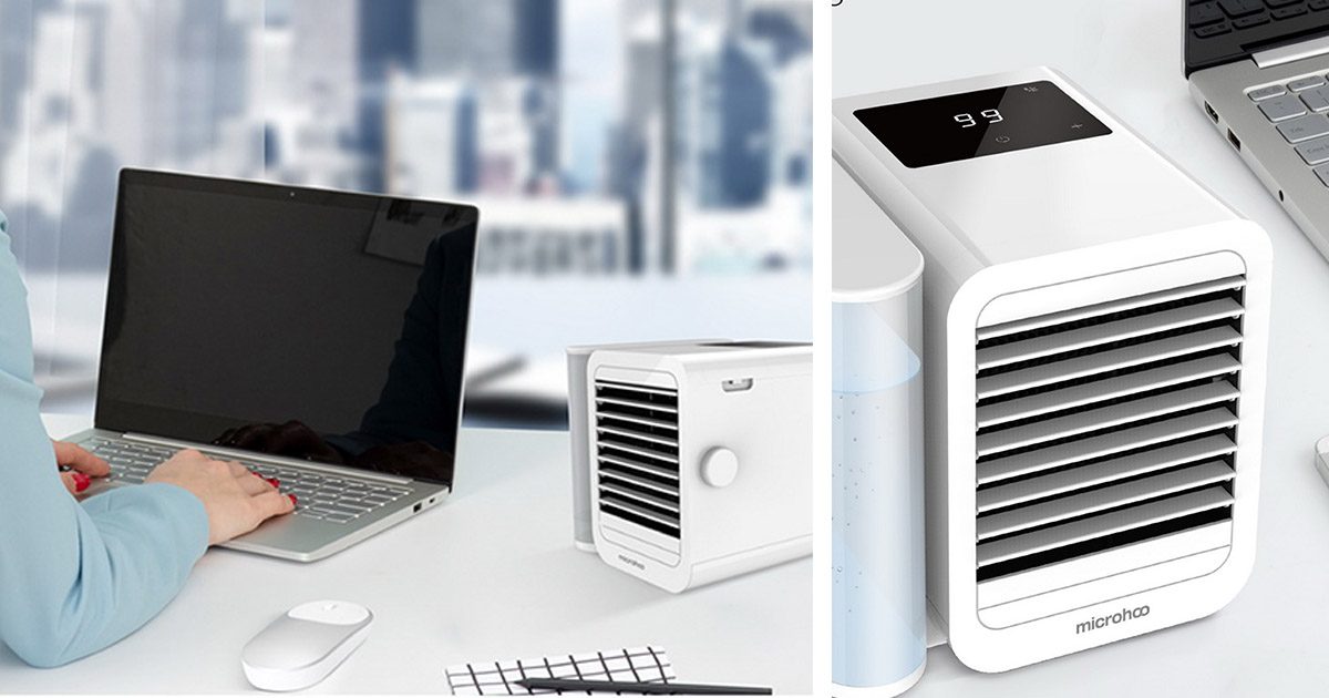 Xiaomi x Microhoo launches Mini Air-Conditioner at S$39.90