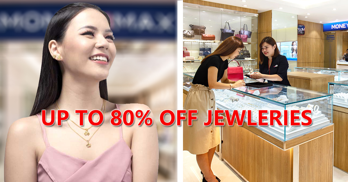 Moneymax Brands Festival offering Jewelleries up to 80% OFF
