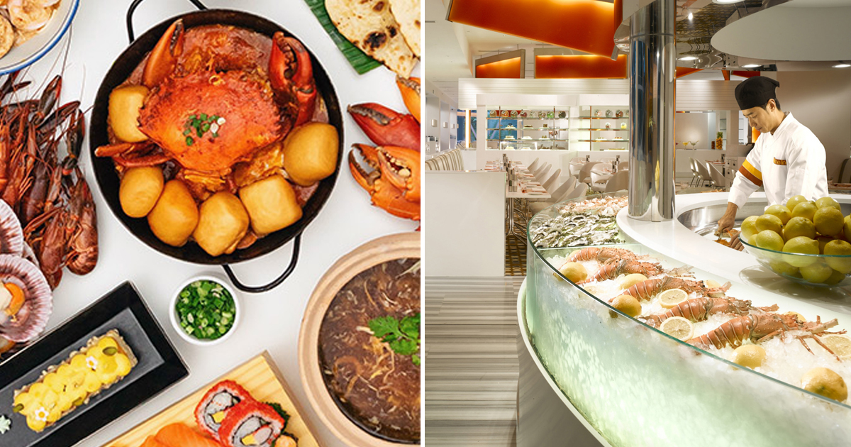 The Line at Shangri-La's brings back 50% discount for 2nd diner buffet lunch, promotion till 12 Mar 2021