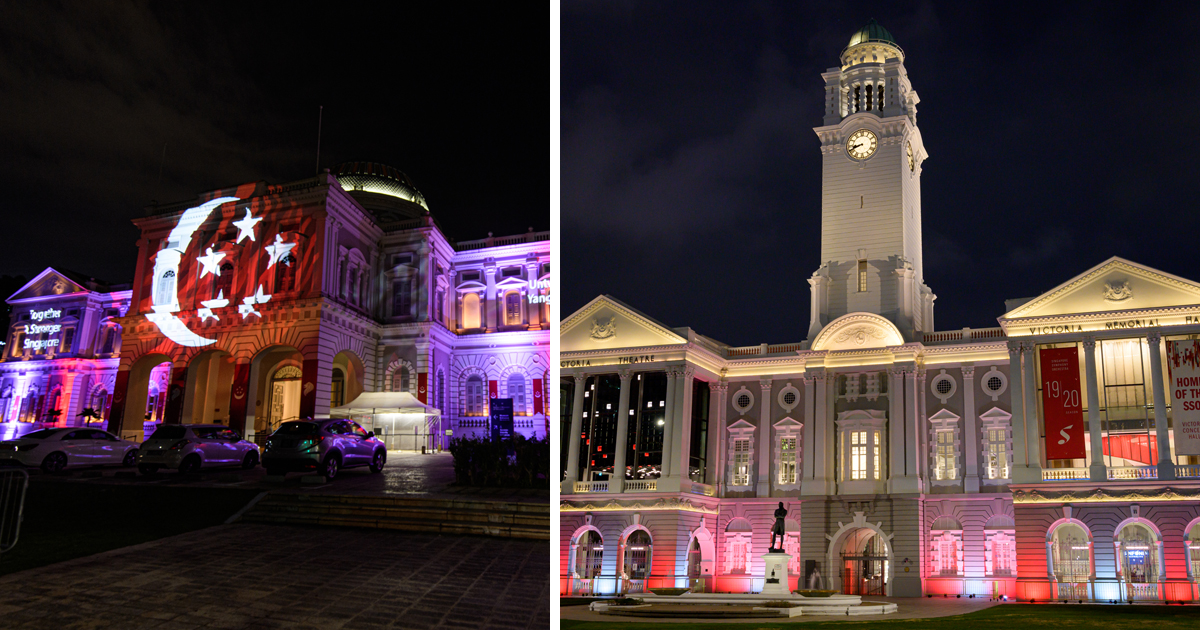 10 National Monuments to light up to celebrate National Day till 30 August 2020