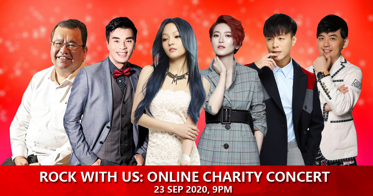 Angela Zhang, Joi Chua, Weibird and more celebrities performs for online concert to support Singapore Charity