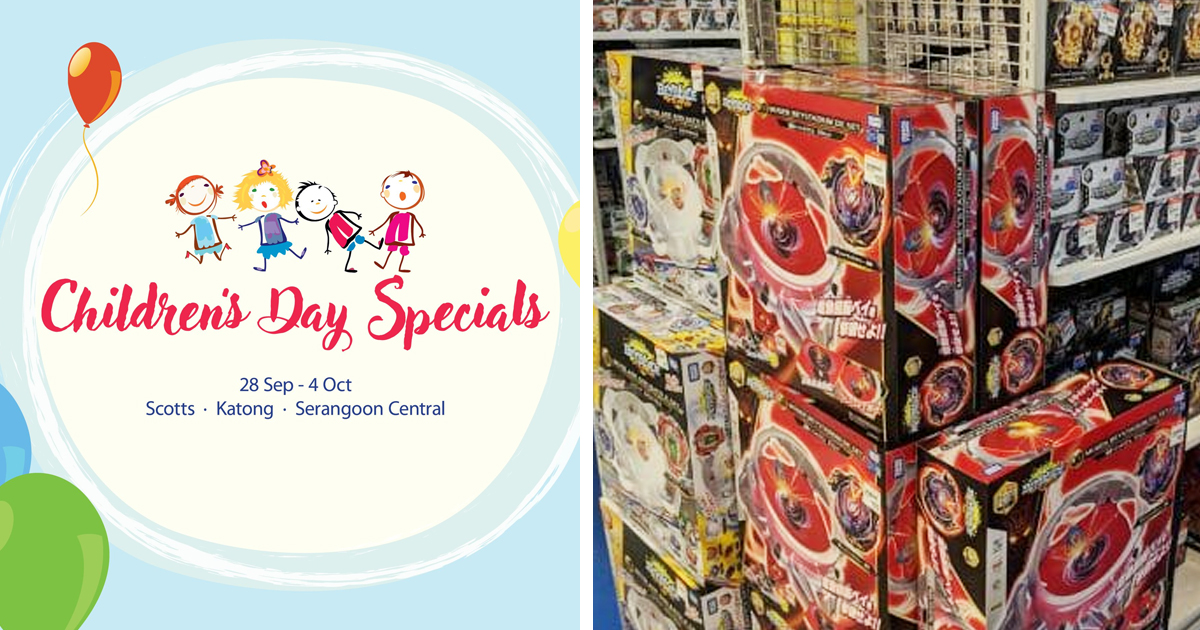 ISETAN Singapore Childrens' Day Special, including children's day giveaway and toys from just S$8
