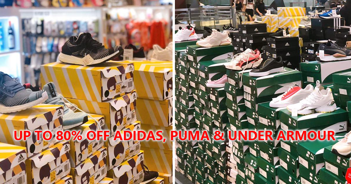 Redhill Warehouse Sale: Up to 80% OFF Adidas, Puma, Under Armour, Converse and more