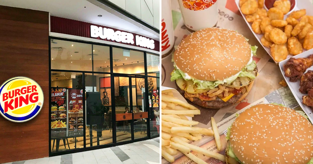 Burger King Singapore Offers 10 NEW bundle meals promotion with savings up to S$16+