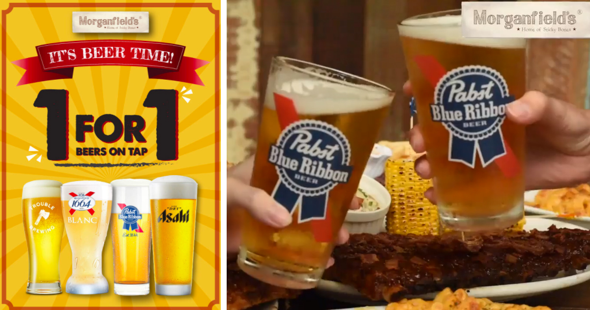 Morganfield's Singapore celebrates Oktoberfest with 1-for-1 beers on tap for entire month of October 2020