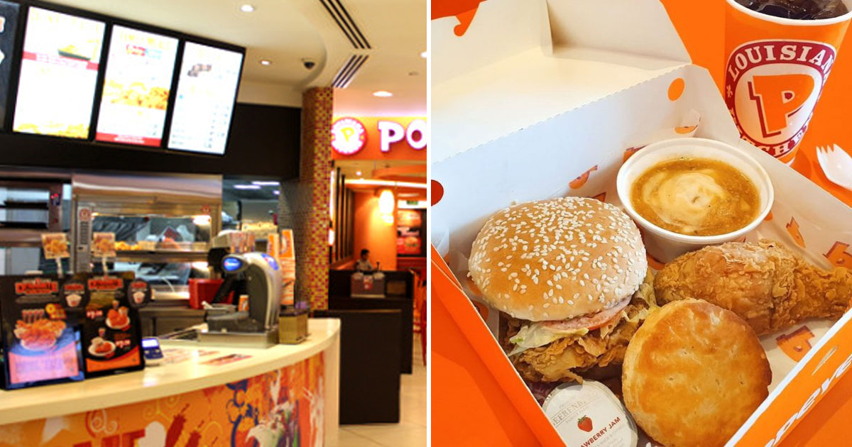 The Cathay's Popeyes Offers 1-For-1 Chicken Combo Meal for S$9