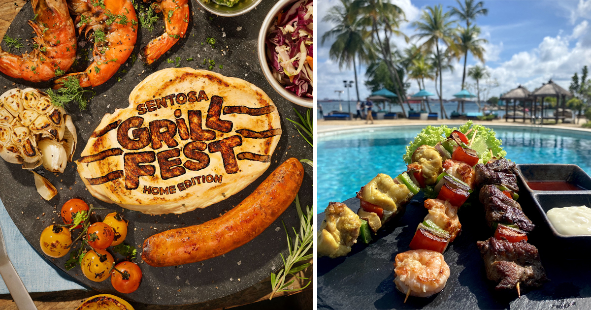 Sentosa GrillFest returns with 80 mouth-watering treats with island-wide delivery