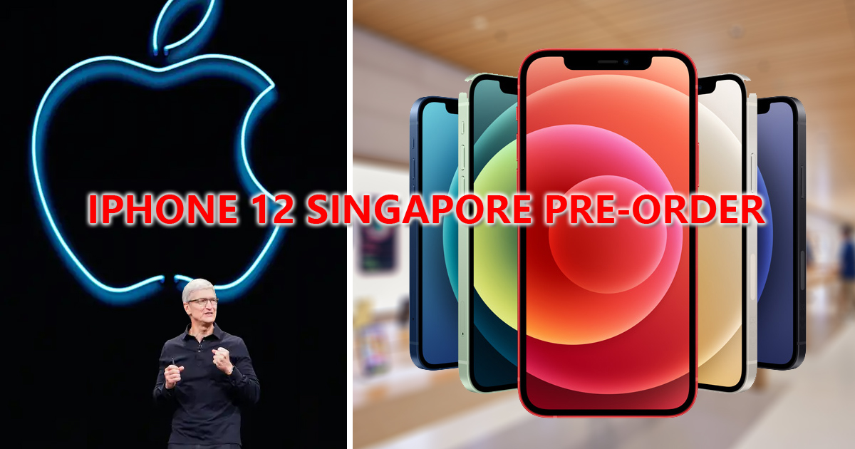 iPhone 12 & 12 Pro available for pre-order in Singapore tomorrow, 16 October 2020