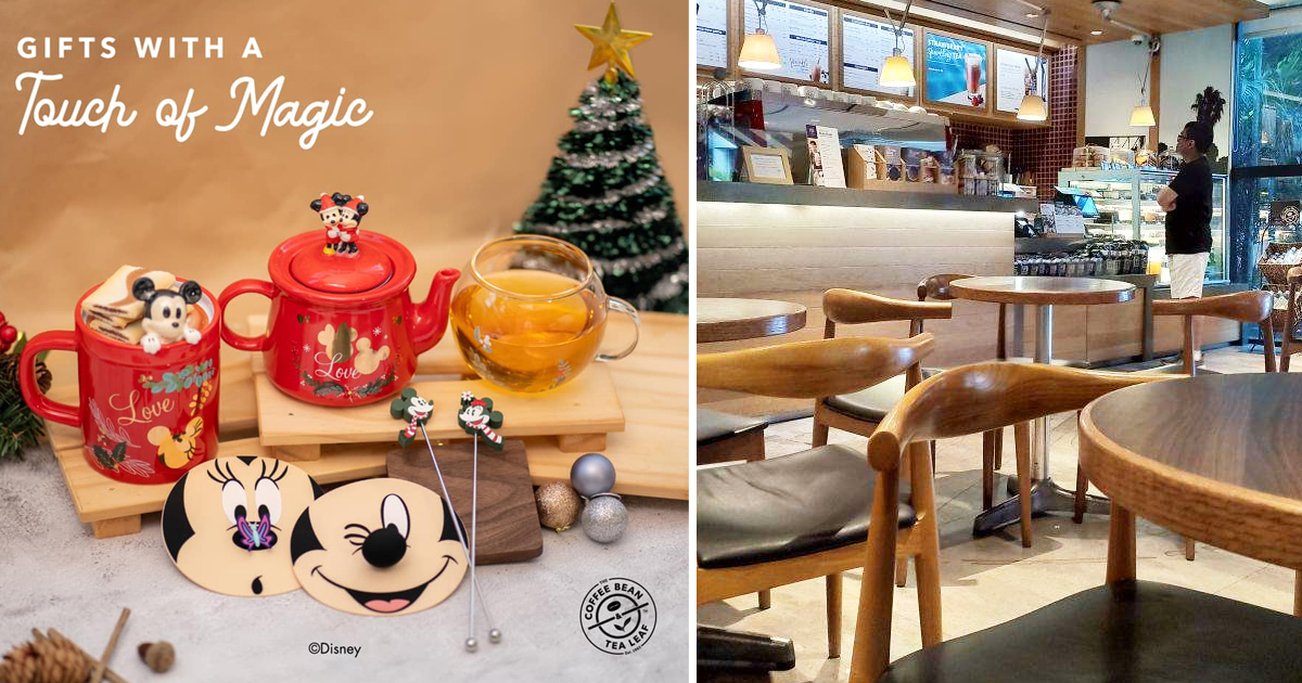Coffee Bean Singapore introduces Mickey & Minnie collectibles for Christmas 2020