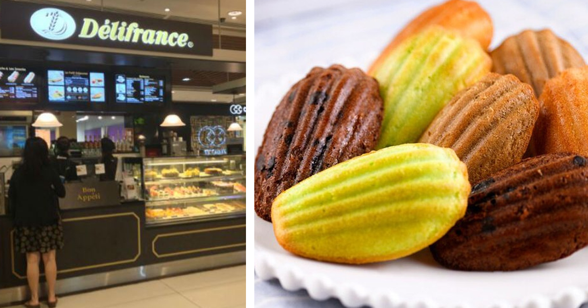 Delifrance Singapore offers 1-for-1 Madeleine at all cafe, until 29 Nov 2020