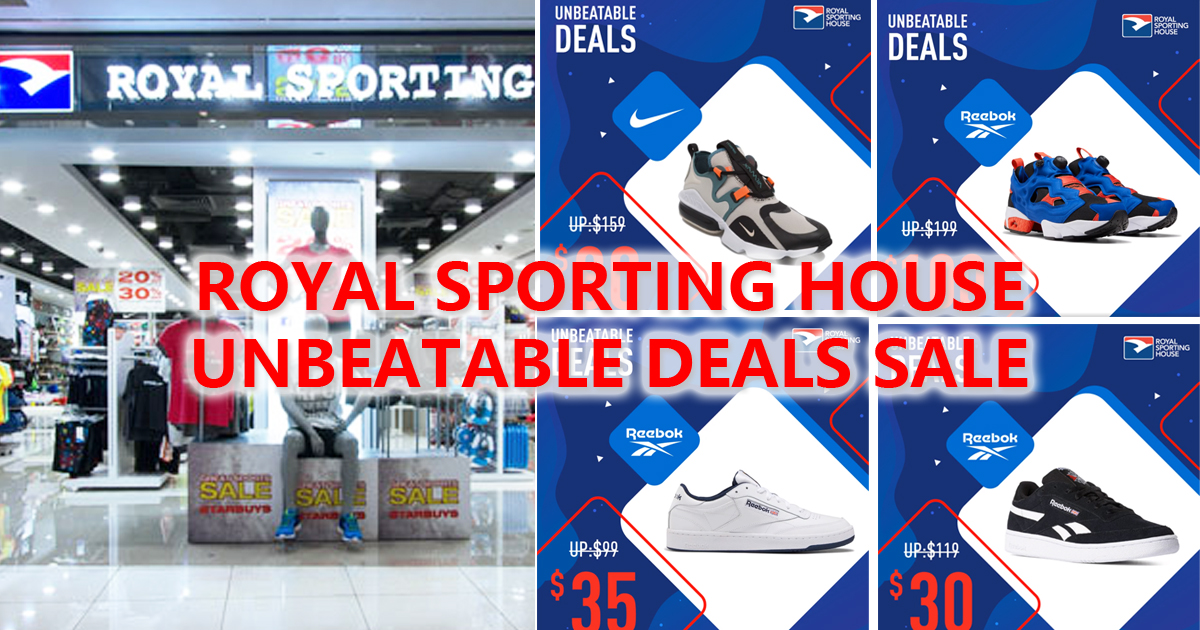 Royal Sporting House Singapore launches unbeatable deals, up to 50% discount