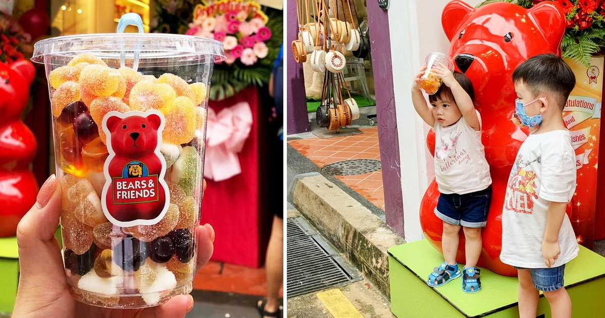 Candy Shop Bears & Friends opens outlet at Haji Lane, selling alcoholic gummy bears