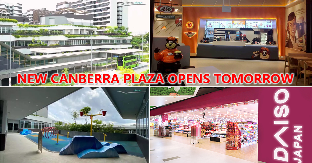Canberra Plaza officially opens tomorrow, has Daiso, A&W, Gymmboxx and 70 other shops