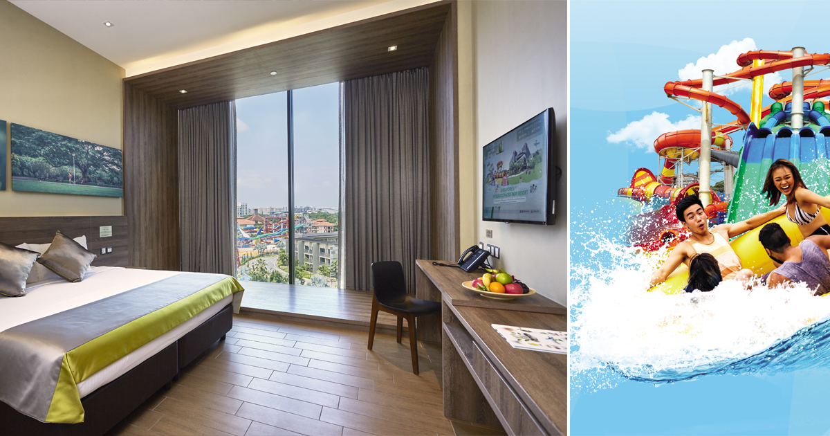 Downtown East offering S$12 D'Resort Staycation flash deal on 24 Dec, limited to first 50 redemptions