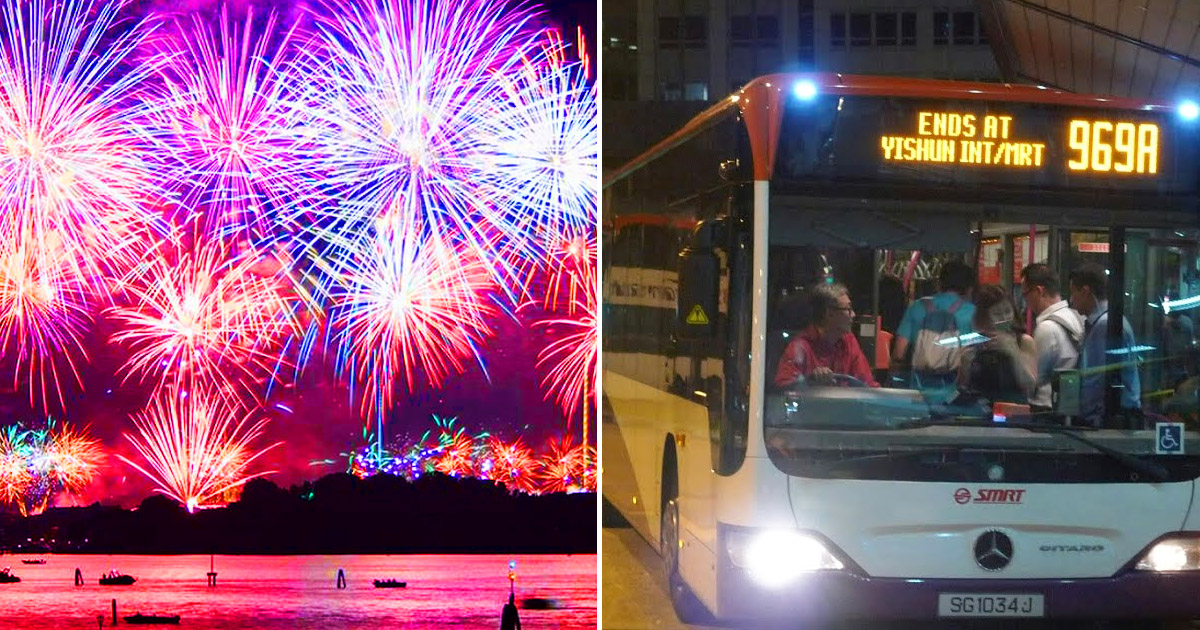 SMRT & SBS Transit Extends Train and Bus Services for New Year's Eve 2020