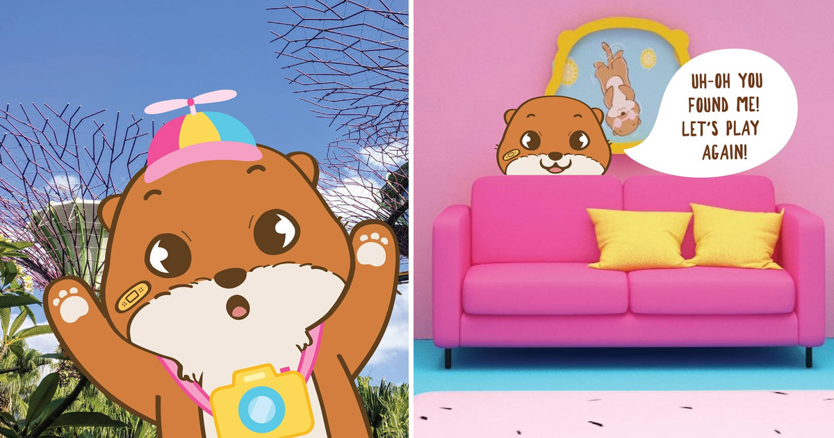Singapore's first Otter-themed game experience opens at Garden by the Bay tomorrow