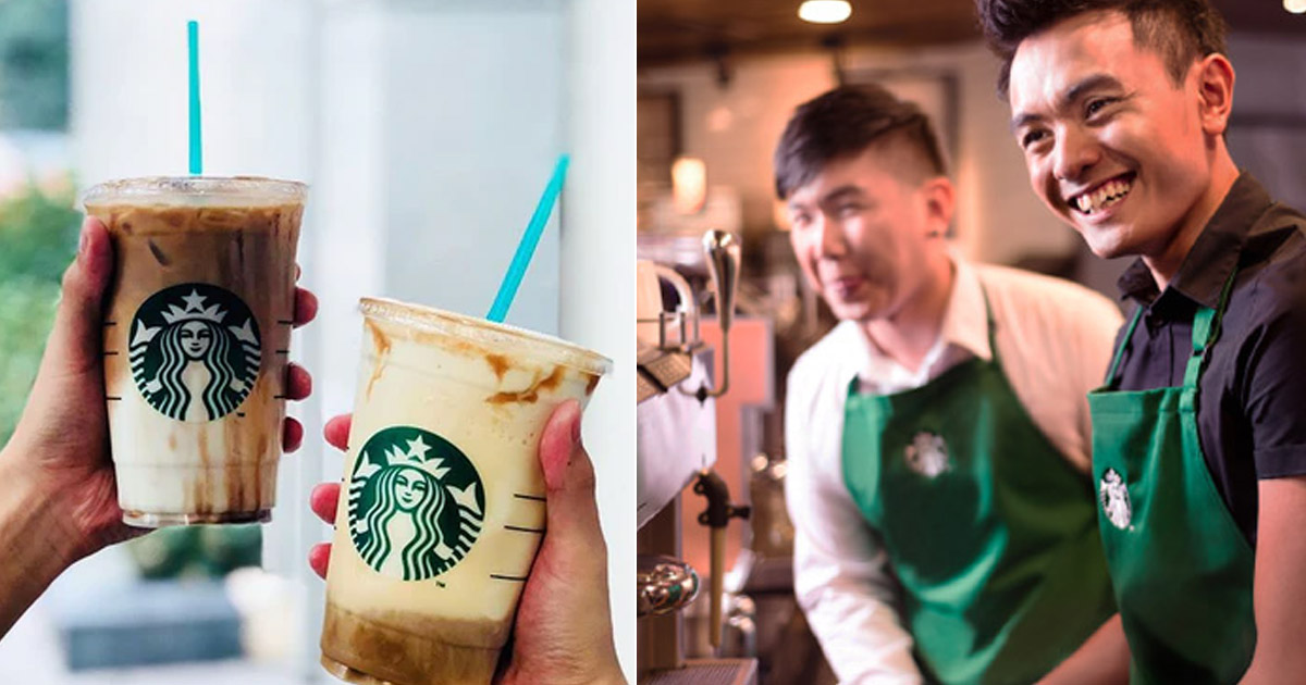 Starbucks Singapore offers 1-for-1 promotion on selected drinks, 15 – 17 Dec 2020