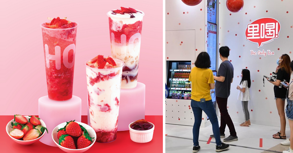 LiHO Singapore brings back seasonal Korean strawberry beverage series for a limited time