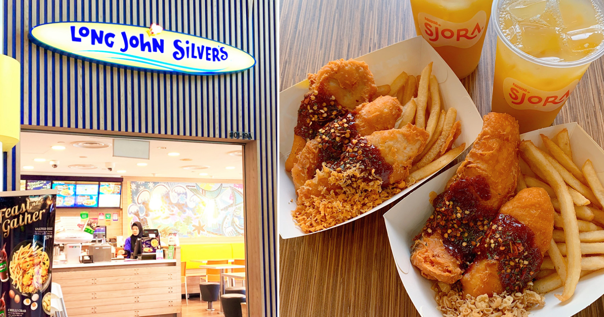 Long John Silvers joins mala craze with new mala seafood and chicken meal this CNY